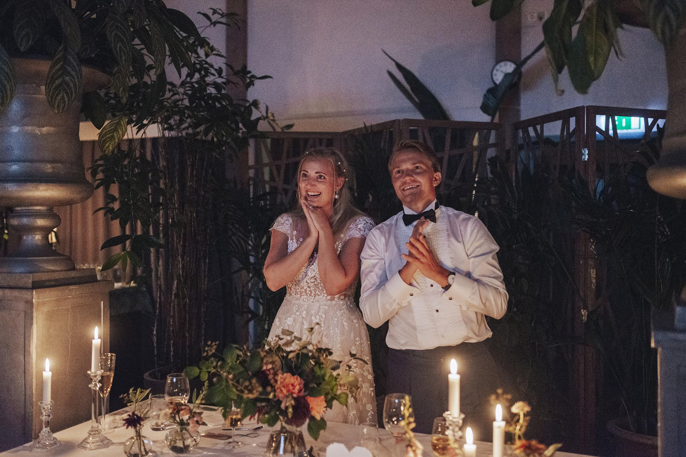Bröllop Slottsträdgården Ulriksdal